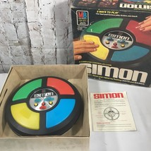 Vintage 1978 Simon Says Milton Bradley Electronic Game Original Box Tested - $32.87