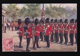 The Grindier Guards Of Wellington Vintage Postcard Artist Signed Harry Payne - $7.68