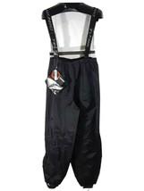 Teknics Motorcycle Rain Waterproof Pants Mens Large Black, K - $18.85