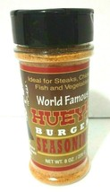 Huey's Burger Seasoning 8 oz for Steaks Chicken Fish Vegetables Foodie G... - $14.01