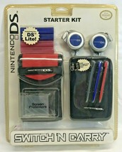 Nintendo DS Starter Kit Switch N Carry Accessories, New Sealed - $13.85