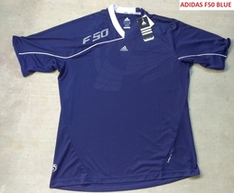 New Adidas All Sports F50 Navy Blue Design Sz XL - $15.00