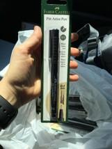 FABER-CASTELL USA  PITT ARTIST BULLET NIB PEN BLACK CARDED 0.1mm - $12.23