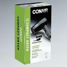 Conair 1875W compact Hair Dryer Folding Handle Dual Voltage Travel Hair ... - $50.12