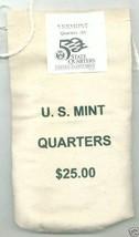 2001-D Uncirculated State Quarter Bag - VERMONT- $25 MINT SEWN BAG - $42.95