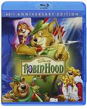 Disney's  Robin Hood (Blu-ray/DVD, 2013, 2-Disc Set, 40th Anniversary Edition)