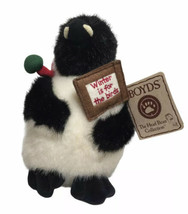 """Boyd's Bears Willie Thaw Penguin 7"""" Winter For Birds W/ Original Tags Displayed - $19.75"""