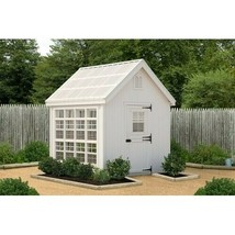 Shesheer She Shed 10 Ft W x 12 Ft D Woman Cave and Greenhouse - Backyard... - $10,355.99
