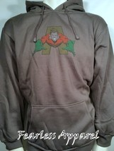 """Dc Comics """" Aquaman """" zu dem Rescue Superheld Kapuzenpullover Sweatshirt L XL - $41.92"""
