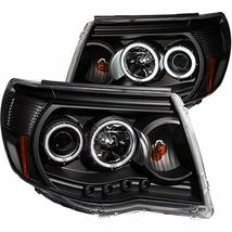 AnzoUSA 121282 Black Clear Projector Halo Headlight for Toyota Tacoma - ... - $300.28