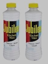 *2* 15 oz JUBILEE Kitchen Wax CLEANER Protects Shines Multi Room & Surfa... - $16.01