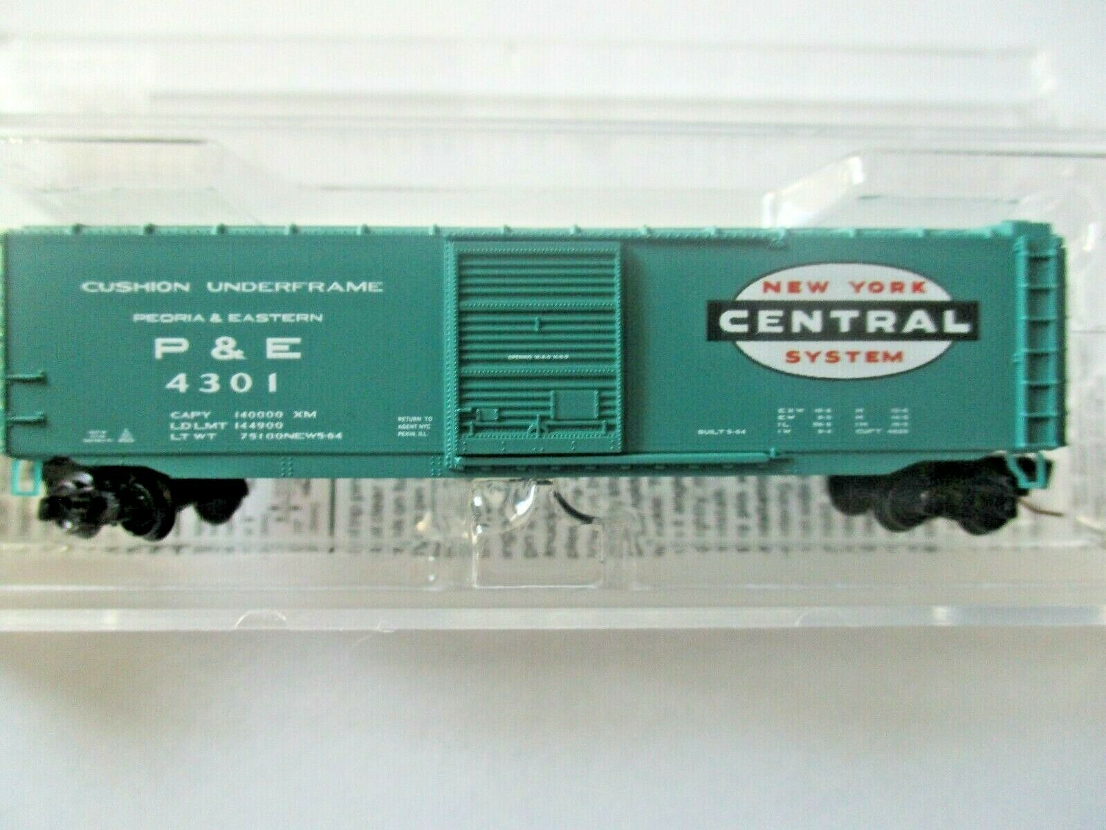 Micro-Trains # 50500441 New York Central 50' Standard Boxcar Z-Scale