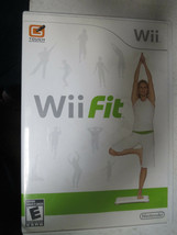 Wii Fit (Nintendo Wii, 2008) - Disc and Manual included - no Board - $4.00