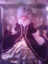 Happy Holidays 1996 Barbie Doll - NIB Beautifully Dressed - $17.82