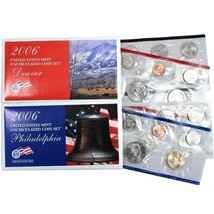 2006 P & D US Mint Set United States Original Government Packaging Box C... - $13.99