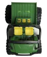 John Deere Ertl Toy Tractor 4 Wheeler Sound & Lights - $9.89