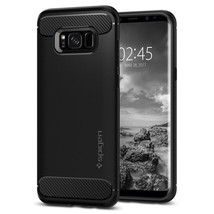Spigen Galaxy S8 Plus Case Rugged Armor Black - $18.69