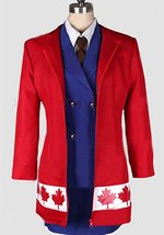 Axis Powers Hetalia Canada Gender ver Cosplay Costume - $99.99+