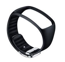Samsung SM-R750 Galaxy Gear S Basic Color Strap ET-SR750 Black Genuine New image 1
