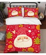 3D Christmas  Xmas 39 Bed Pillowcases Quilt Duvet Cover Set Single Queen... - $64.32+