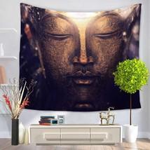 Buddha Tapestry Wall Hanging Meditation Throw Bohemian Indian Mandala Ho... - $378,83 MXN+