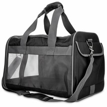 Good2Go Basic Pet Carrier in Size Small Colors Black & Gray High quality... - $41.13