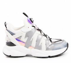 Michael Michael Kors Hero Reflective Sneakers Women Shoes 43R0HRFS8Q - $179.40