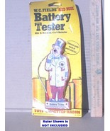 Vintage W.C. Fields Red Nose Battery Tester 1974 Sealed NEW Tested A/AA/... - $9.99