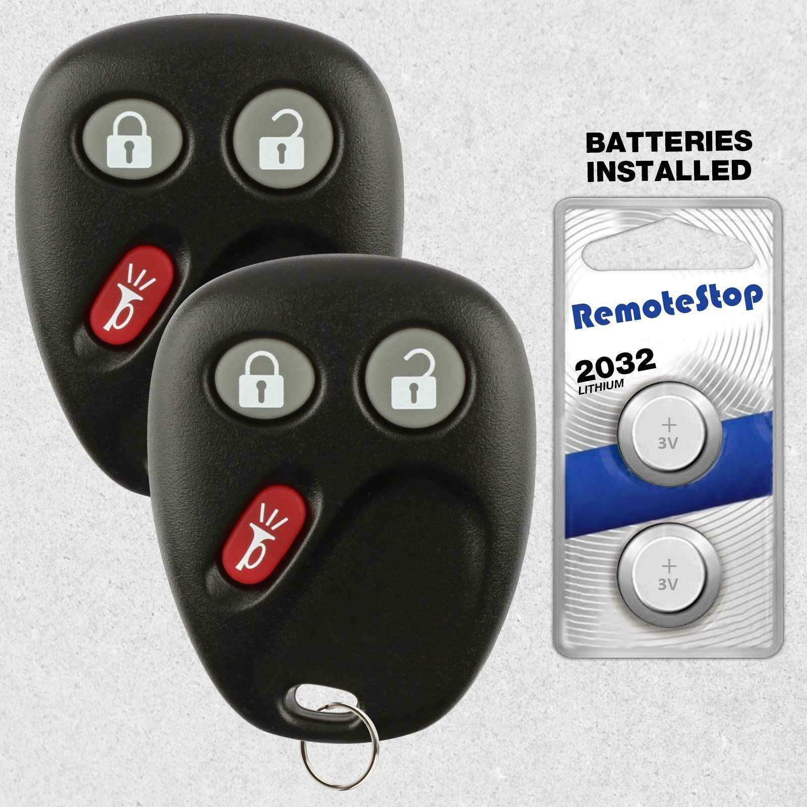Primary image for 2 For 2003 2004 2005 2006 2007 GMC Sierra 1500 2500 3500 Car Remote Key Fob