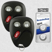 2 For 2003 2004 2005 2006 2007 GMC Sierra 1500 2500 3500 Car Remote Key Fob - $12.52