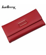 Baellerry 2018 Fashion Women Wallet PU Leather Long Card Holder Phone Po... - $15.65