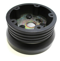 Steering Wheel Adapter Five Hole 1984 - 1988 Ford Cars Black Billet Adapter - $52.99