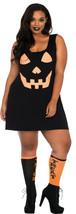 Plus Size Pumpkin Jersey Dress/Halloween/Cosplay/Leg Avenue™/NWT - $39.95