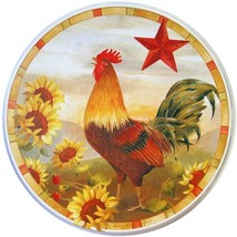 Reston Lloyd Electric Stove Burner Covers, set of 4, Morning Rooster All... - $11.63