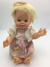 Vintage Mattel Cheerful Tearful Doll Drink Wet Cries Tears Face Changes ... - $29.95