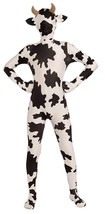 Cow Disappearing Invisible Animal Farm Fancy Dress Up Halloween Teen Cos... - £39.03 GBP