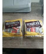 (2) Hershey  Miniatures Assorted Mini Candy Bars Mr. Goodbar Krackel Her... - $12.69
