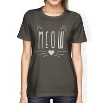 Meow Womens Dark Grey Shirt - $14.99+