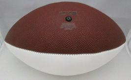 URBAN MEYER / AUTOGRAPHED OHIO STATE BUCKEYES LOGO WHITE PANELED FOOTBALL / COA image 4