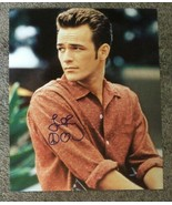 Luke Perry Hand Signed Autograph 8x10 Photo COA Beverly Hills 90210 - $74.99