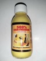 500% Skin Freedom Concentrate Serum with GLUTATHIONE &COLLAGEN....adukesignature - $24.70