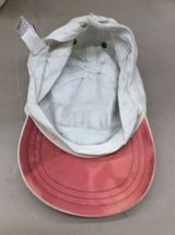 Trucker Hat Baseball Cap Vintage OLD NAVY NY CA KIDs L/G/G White fitted Retro image 5