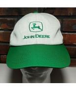 Vtg 1980s John Deere Denim Corduroy Basball Hat K Products USA Snapback - $79.19