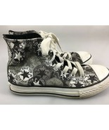 Converse All Star Chuck Taylor Youth 2 US Gray Hi-Top Sneakers Kicks Gym... - $29.89