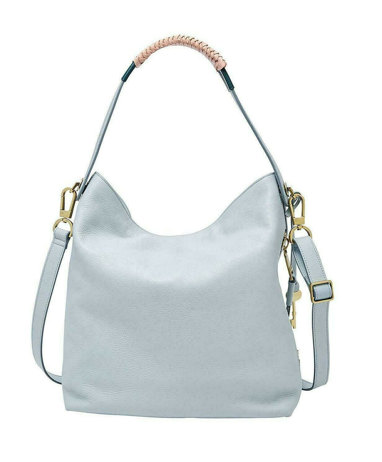 New Fossil Women's Maya Small Leather Hobo Bag Variety Colors image 3