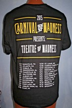 Carnival Of Madness 2015 Concert Tour T-SHIRT L Halestrom Heavy Metal Rare - $14.84