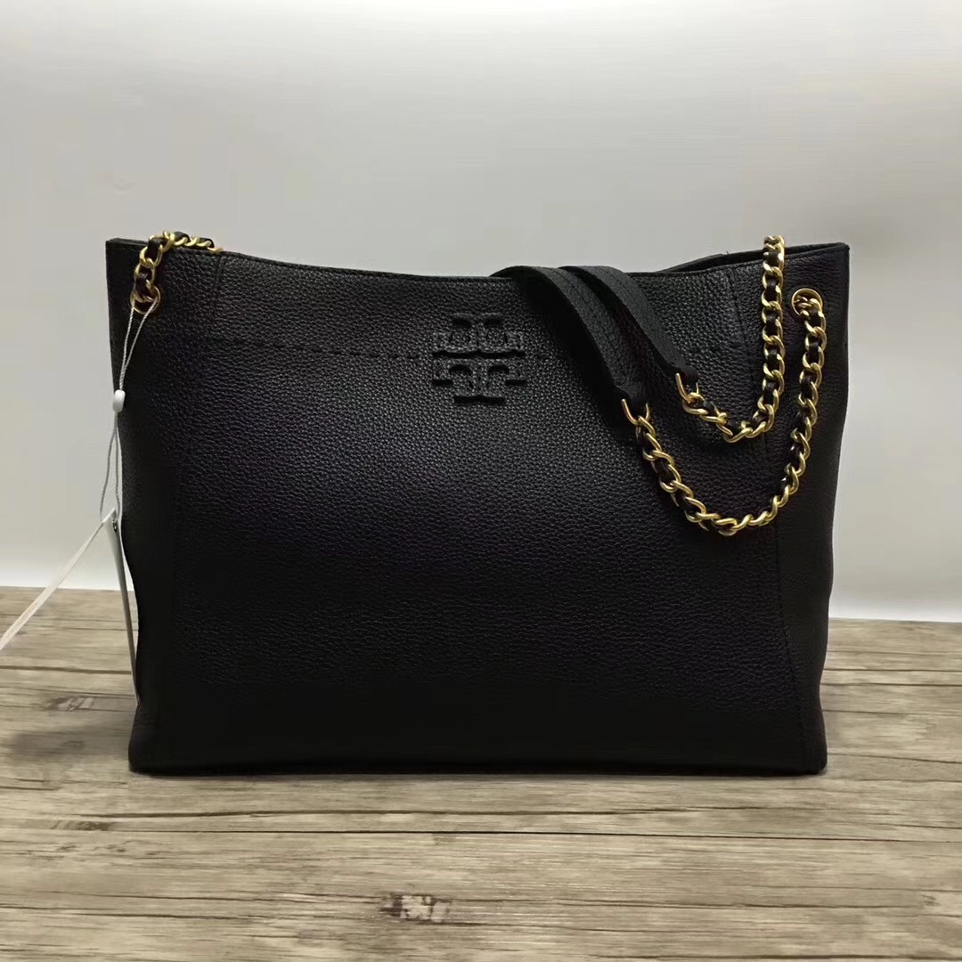 a3b027b63ab Tory Burch Mcgraw Chain Shoulder Slouchy Tote and 50 similar items