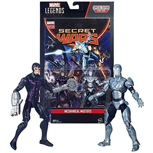 Hasbro Year 2015 Marvel Legends Comic Book Series 2 Pack 4 Inch Tall Figure - ME