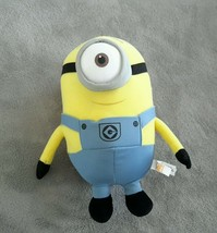 "Despicable Me 10"" Plush Toy Factory Stuart Minion 1-Eye 2014 Universal Studios - $18.80"