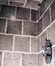 """6 DIY Concrete Castle Stone Patio Paver Molds 12x12x1.5"""" Make 100s For Pennies image 4"""
